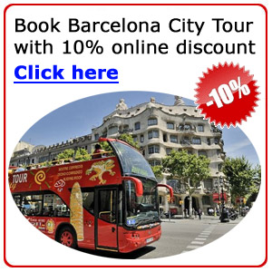 Barcelona City Tour with 10% Discount